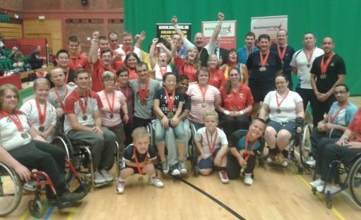 Disability Badminton - Wales