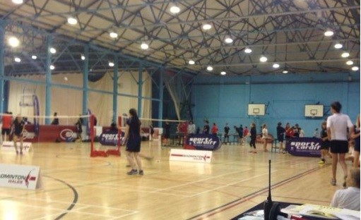 Badminton at the Cardiff Games Finals