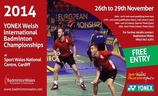 Yonex Welsh International - Draw