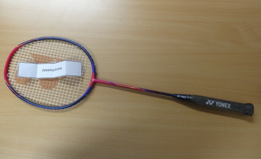 Racket with winner name - SPD