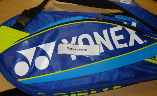 Bag with winner name - SPD