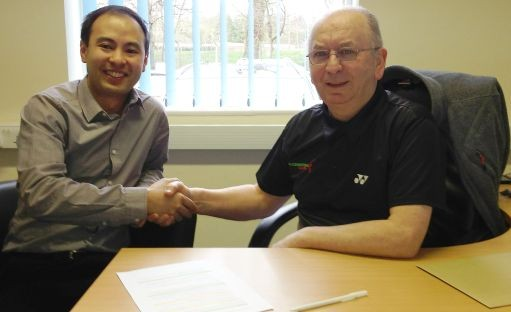 New Partnership for Badminton Wales